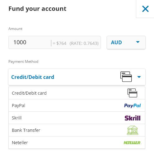 etoro bank account